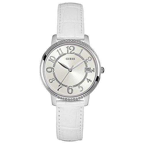 Guess orologio analogico quarzo donna con cinturino in pelle w0930l4
