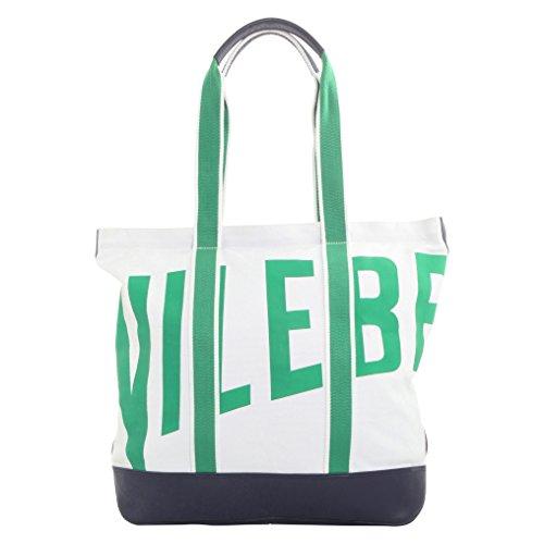 Vilebrequin Accessorio - Borsa tote da spiaggia in canvas di cotone Vilebrequin Unisex Bianco