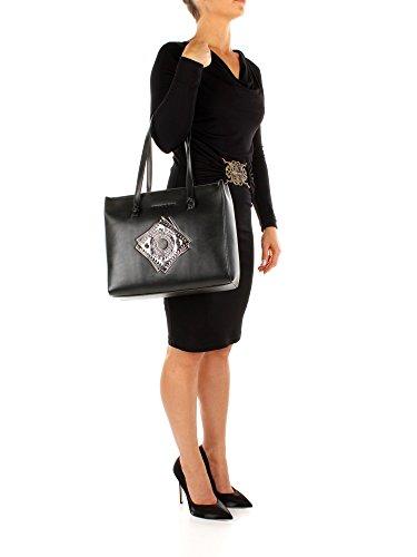 Schultertaschen Versace Jeans Damen - Polyester (E1VQBBA775425) Schwarz