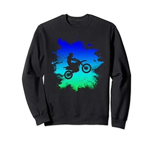 Motocross and Dirt Bike For Off Road Sweatshirt -