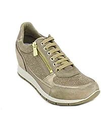 IGI CO Scarpe Donna Sneakers Basse con Zeppa Interna 1157922 Beige 8fdd54aaf9e