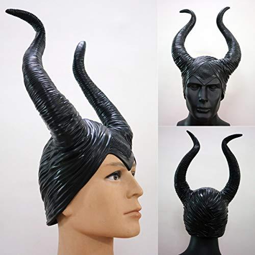 ack Horns Halloween Women Party Costume Jolie Cosplay Magic Horror ()
