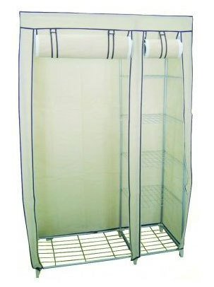 ashley-4-shelf-clothes-rail-with-protective-cover-cream