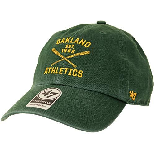 47 Brand Adjustable Cap - Axis Oakland Athletics Dunkel Grün - Oakland Athletics Design