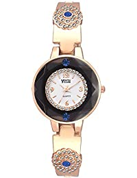 Youth Club PRD-07WHT New Rose Gold Style Analog Watch - For Women