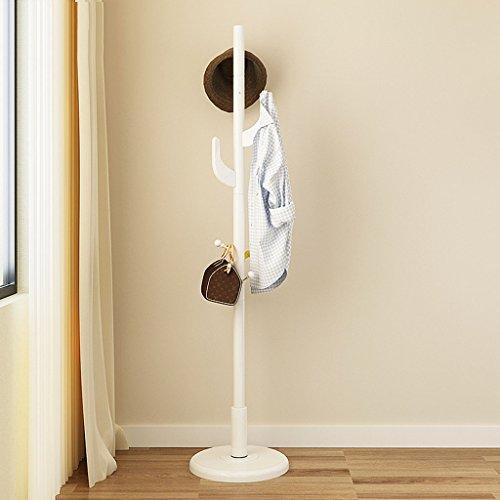 LYM Stehender Huthänger Mantel Hut Rack Holz Stand, Hall Baum mit 8 Haken Display Stand Einfache Montage von Regalen ( Farbe : D , größe : 174*40CM )