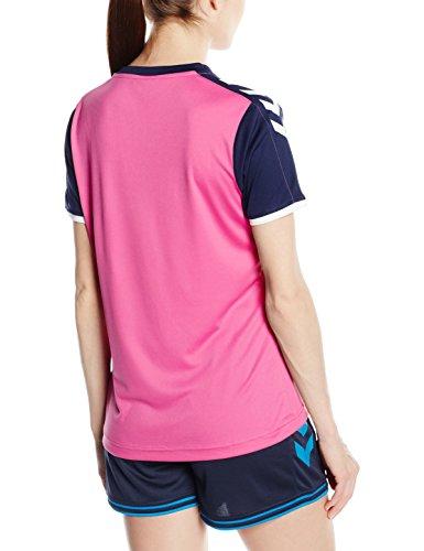 Hummel Core Maillot à manches courtes en jersey pour homme Violet - Rose Violet/Marina
