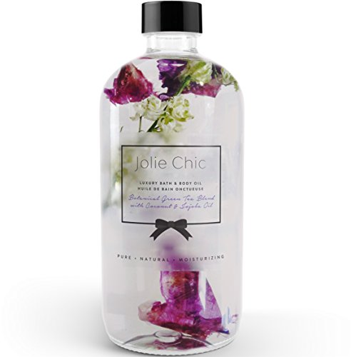 Bath and Body Oil for Women - Bath Oil with Jojoba and Coconut Oil - Massage Oil - UK Made
