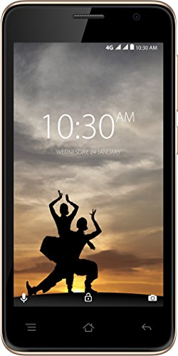Karbonn A9 Indian (Black-Champagne, 1GB RAM, 8GB Storage)