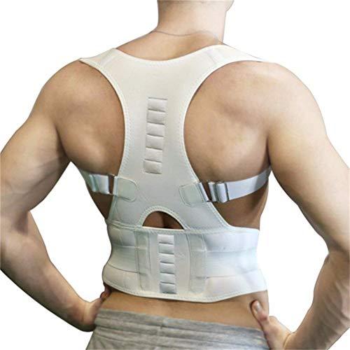 KAZOGU Orthopädische Lendenwirbelsäule Thoraxrücken Haltungskorrekturorthese Schulterstützgürtel Magnetfeldtherapie Frauen Männer