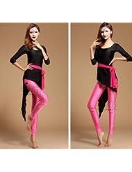 Las señoras danza desgaste de práctica , l , pink blue