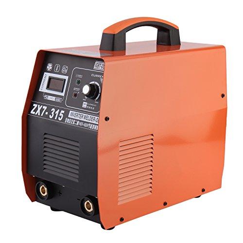 OUTAD ZX7-315 315A ARC MMA MOSFET Schweißgerät DC Wechselrichter Inverter Schweißen Anzeige LCD 230V Schweißinverter Schweißmaschine Lichtbogenschweißgerät Elektrodenschweißgerät
