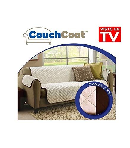 Fodera per divano 3 posti, reversibile, 160cm senza braccioli, con braccioli 230cm