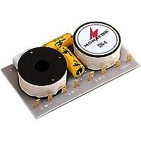 Monacor - Red de separación de frecuencias de tres salidas (100 W, 650-6000 Hz)