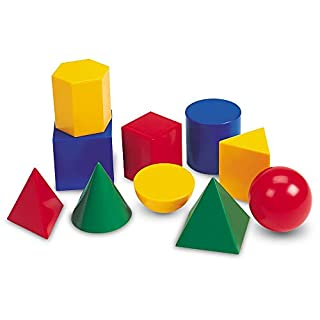 Learning Resources Large Geosolids Plastic Shapes (B000F8R5IW) | Amazon price tracker / tracking, Amazon price history charts, Amazon price watches, Amazon price drop alerts