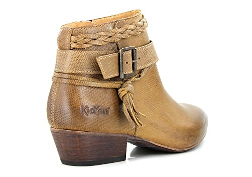 KICKERS WESTBOOTS - Bottines / Boots - Femme Camel