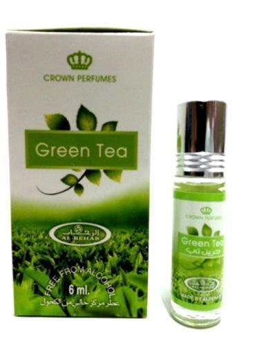 GREEN TEA 6ml Best Selling Al Rehab Perfume Oil - Top Quality Fragrance