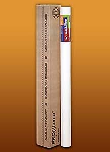Toile de rénovation non-tissé à peindre 60 g EDEM 399-060 revêtement mural mince intissé lisse blanc | 1 rouleau 26,50 m2