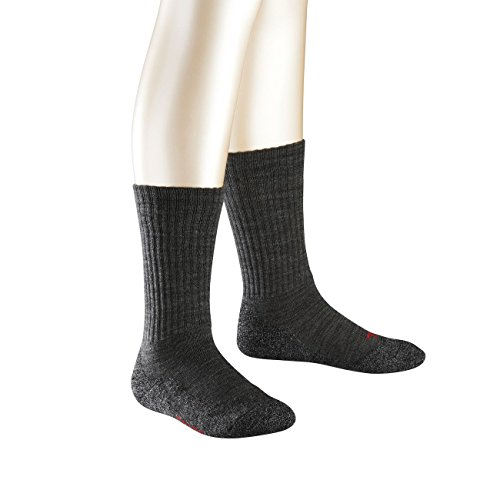Preisvergleich Produktbild Falke Kinder Socken Active Warm 2er Pack, Größe:35-38;Farbe:Asphalt (3180)