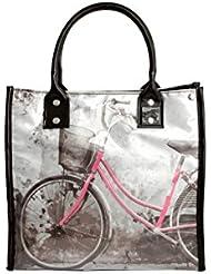 Danielle Lunchtasche Vintage, Fahrrad