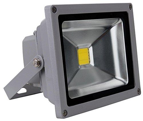 Showlite FL-2020 LED Outdoor Fluter (Flutlicht, 20W, 2200 Lumen, IP65, 4500K, tageslicht-weiß)