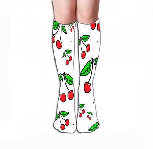 Hohe Socken Women's Men's Cool Colorful Casual Socks Casual Cotton Crew Socks Gift 19.7