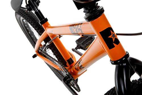 Rad Boy Drifter Bmx Bike, Fluorescent Orange, Size 20