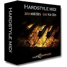 Hardstyle Midi Pack - Hard Techno Midi und Wav Samples - Coole Hardstyle Midi-Pack für den Einsatz in Hardstyle, Hardcore, Techno, Dance Tracks. Hier finden Sie 223 High Quality Midi Samples und 625 Große Hardstyle Wav Ph... [Apple Loops/ AIFF] [DVD non-BOX]