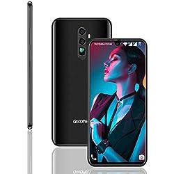 """GOODTEL Smartphone Android 8.1-4180mAh Grand Batterie 4G Smartphone avec 3 Slots (Double SIM+ SD) 6.3"""" écran /3GB RAM+32GB 13MP + 8MP Double Objectif Caméra Face ID déverrouillé téléphones - CNOTE 50"""