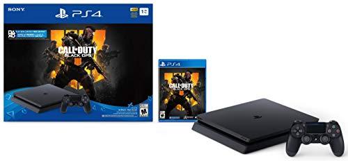 Sony PlayStation 4 Schlanke 1TB Konsole - Call of Duty: Black Ops 4 Bundle - Call Duty Konsole Of Bundle, Ps4