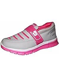 Orbit Women Sports Running Shoes LS 008 Grey Pink
