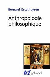 Anthropologie philosophique