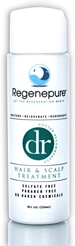 Regenepure DR Hair Loss Shampoo for Hair Growth and Scalp Treatment 8 oz.