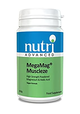 MegaMag Muscleze (Formerly Ultra Muscleze) - 162gram Powder by Nutri Advanced - Magnesium Supplement