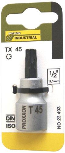 Proxxon 23493 TX-Einsatz T45 55 mm, 1/2 Zoll - T45 Torx