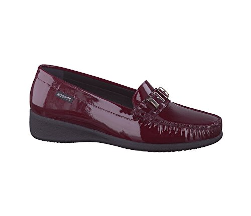 Mephisto Georgia 4270, Mocassino in Vernice Donna Bordeaux (Wine (Vernicald 4270))