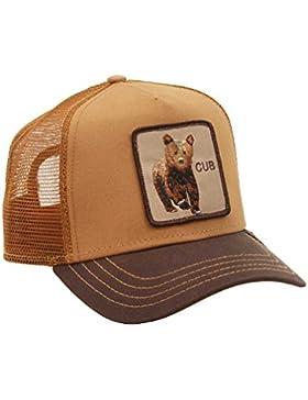 Gorra trucker marrón osezno Cub de Goorin Bros.