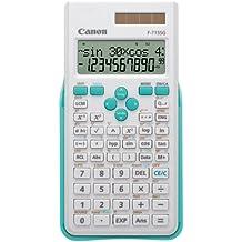 Canon F-715SG - Calculadora científica, color azul y blanco