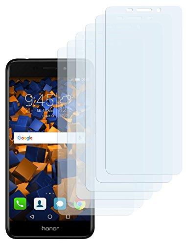 mumbi Schutzfolie kompatibel mit Huawei Honor 6C Pro Folie klar, Bildschirmschutzfolie (6x)
