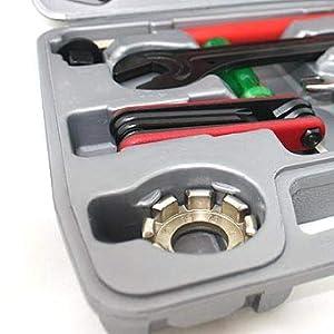 Top - Estuche de herramientas para bicicleta (26 piezas)