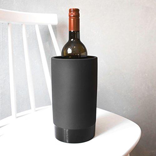 Magisso 70604 Flaschen- und Weinkühler in Keramik, hält das Getränk 4-6 Stunden natürlich...