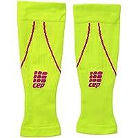 CEP Pantorrilleras de compresión Progressive + para Mujer, Mujer, WS450, Yellow (Lime/Pink), II