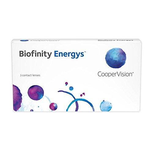 Cooper Vision Biofinity Energys Monatslinsen weich, 3 Stück / BC 8.6 mm / DIA 14.0 mm / -1.5 Dioptrien
