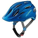 Alpina Unisex Jugend Carapax JR. Fahrradhelm, Blue, 51-56 cm