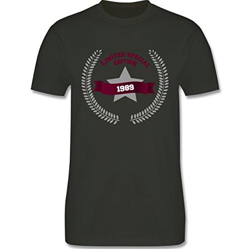 Geburtstag - 1989 Limited Special Edition - Herren Premium T-Shirt Army Grün