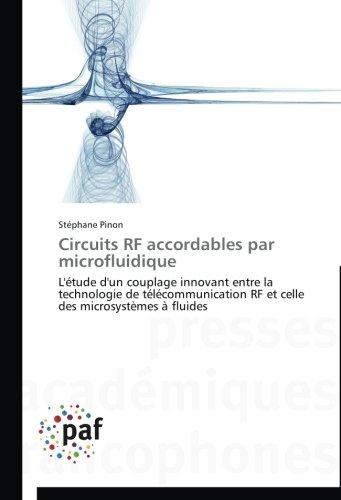 Circuits rf accordables par microfluidique