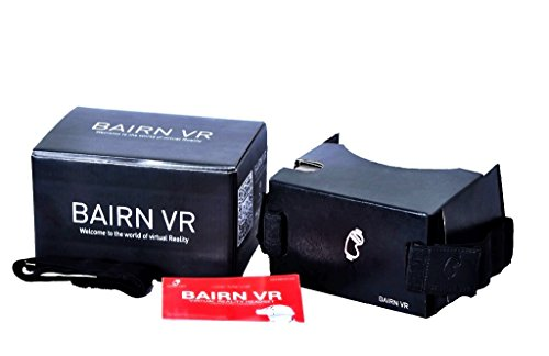 BAIRN ART BairnVR- Premium quality leather finish Virtual reality headset