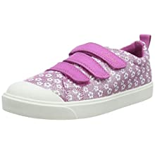 Clarks City Vibe K, girls City Vibe K, Pink (Pink Floral Pink Floral), 12 Child UK (30 EU)