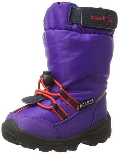 Kamik Unisex-Kinder arvid Schneestiefel, Violett (Purple-Violet), 23 EU