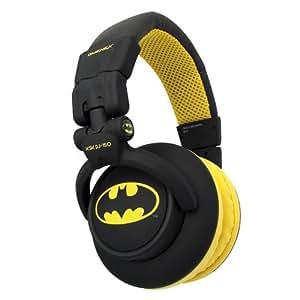 Omenex KSK-DJ 150 Casque audio avec câble détachable Batman